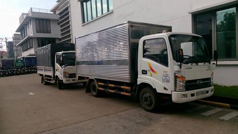 Thuê xe taxi tải chuyển văn phòng giá rẻ