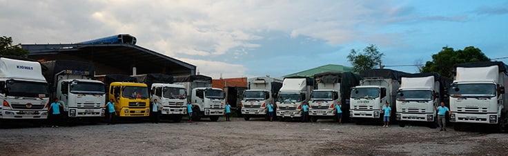 Taxi tải vận chuyển hàng đường ngắn