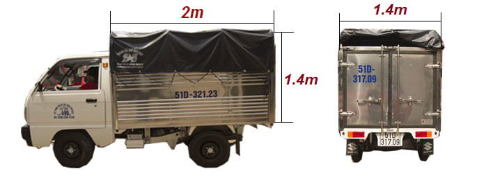 Dịch vụ taxi tải Kiến Vàng uy tín