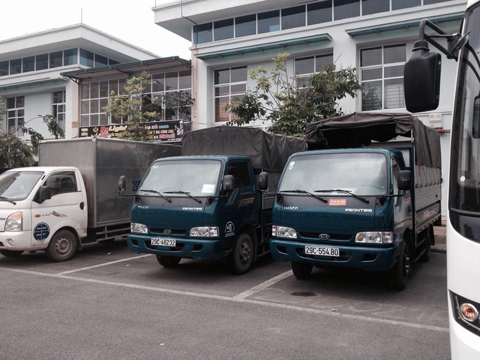 dịch vụ thuê xe taxi tải kiến vàng