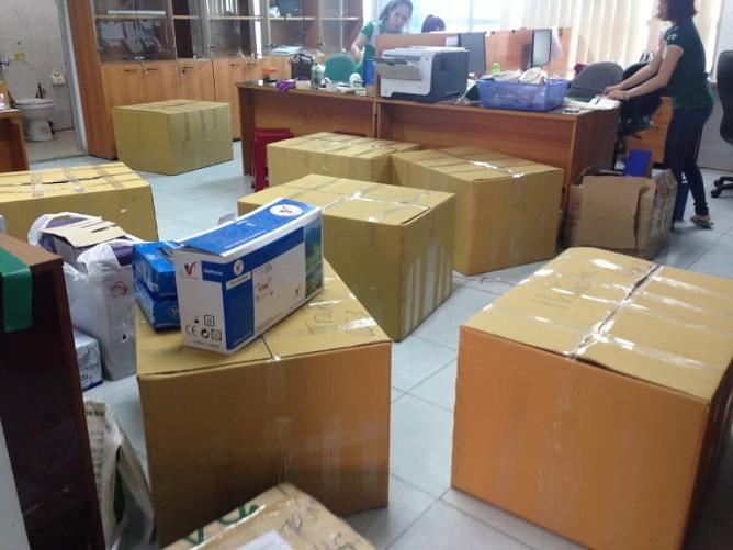 Dịch vụ chuyển nhà trọn gói chuyên nghiệp Kiến Vàng