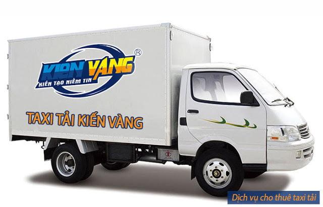 Taxi tải Kiến Vàng chuyển đồ đạc nhanh giá rẻ