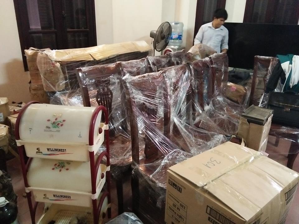 Dịch vụ chuyển nhà trọn gói Kiến Vàng tại Hà Nội