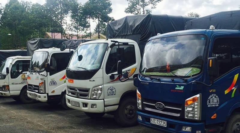 dịch vụ taxi tải chở hàng kiến vàng