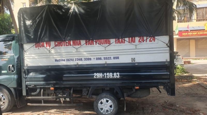 xe tải chuyển nhà tại hà nội