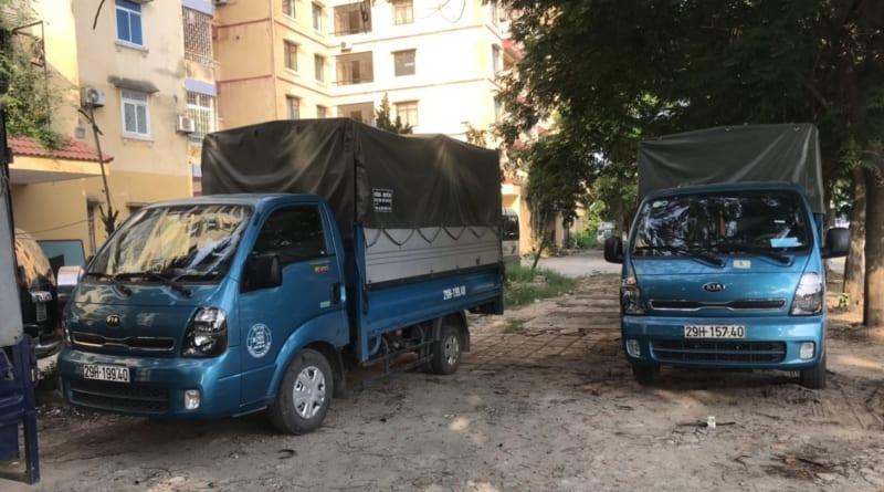 taxi tải chở hàng