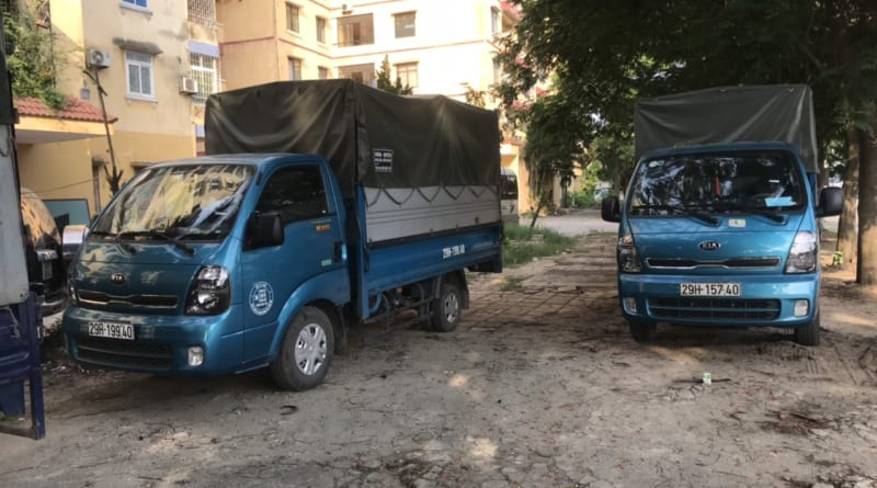 Xe taxi tải Kiến Vàng: xe tải Không bị cấm giờ chạy 24/24