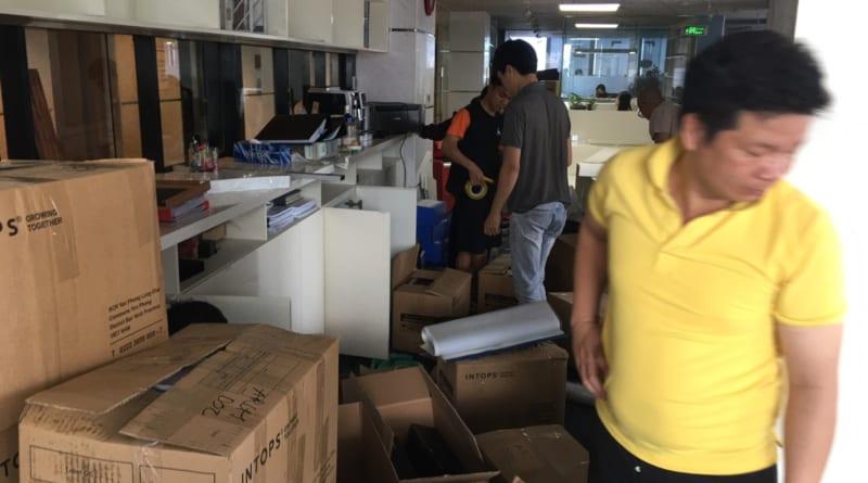 quy trình chuyển nhà kiến vàng