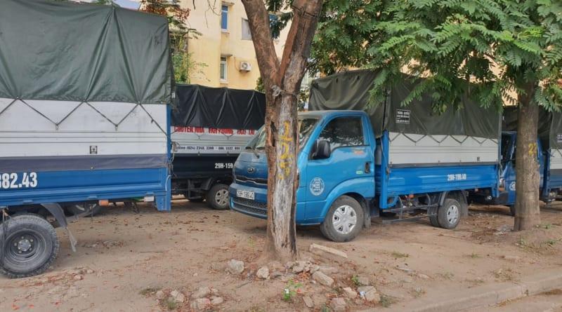 xe tải chở đồ hà nội