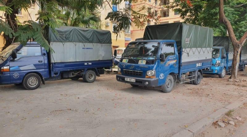 taxi tải chuyển nhà kiến vàng