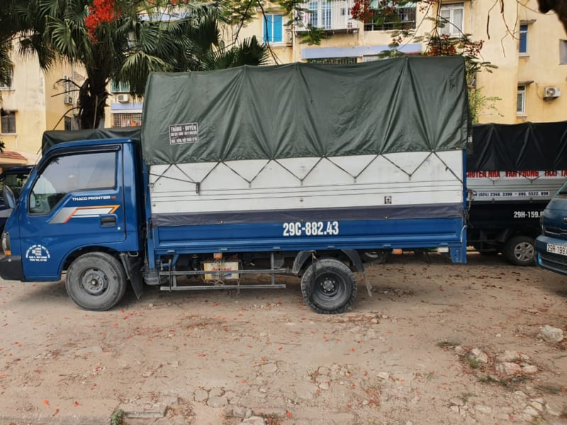 taxi tải chuyển đồ