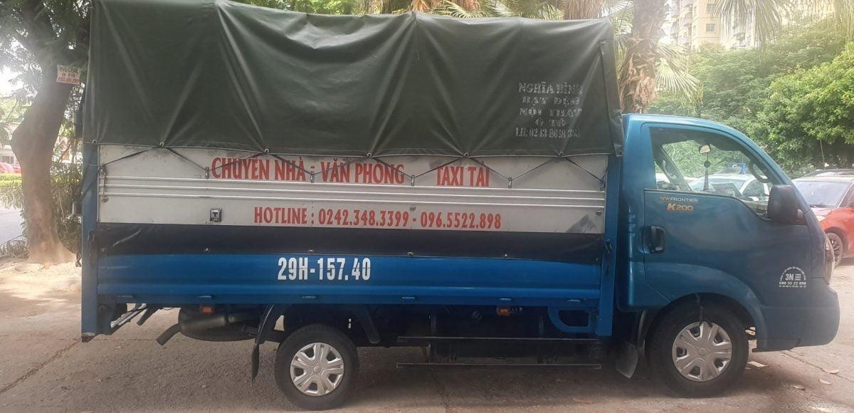 xe tải chở hàng 24h