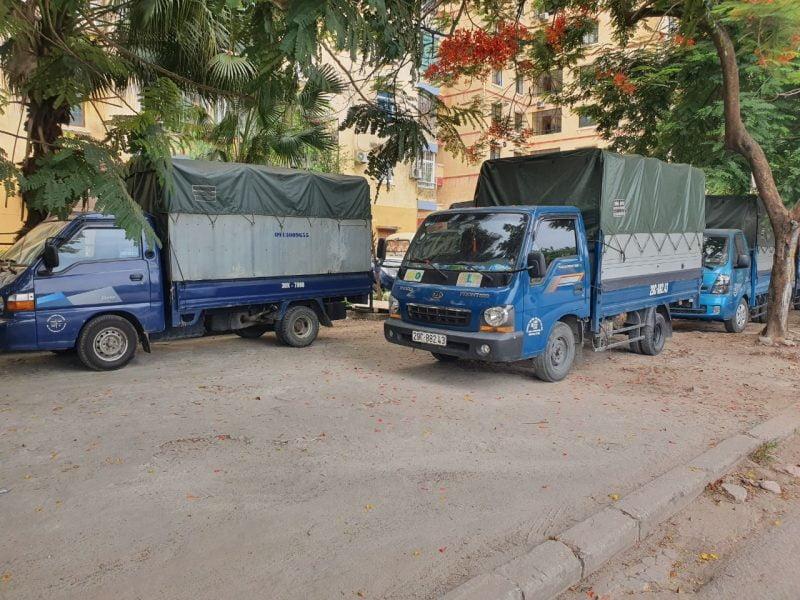 Cho thuê xe tải theo ngày