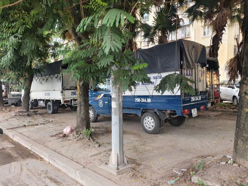 Cho thuê xe tải chở hàng tại Hà Nội