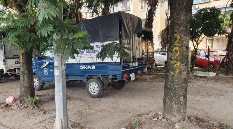 Hãng xe tải Kiến Vàng - Taxi tải tại Hà Nội