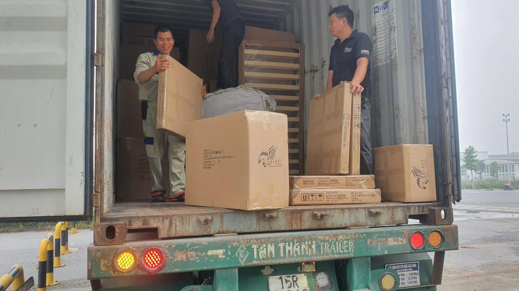 Taxi tải Kiến Vàng - Taxi tải chở hàng Hà Nội