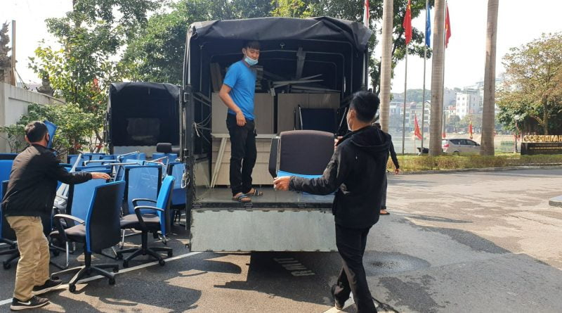 Chuyển văn phòng Hà Nội tại Quận Cầu Giấy