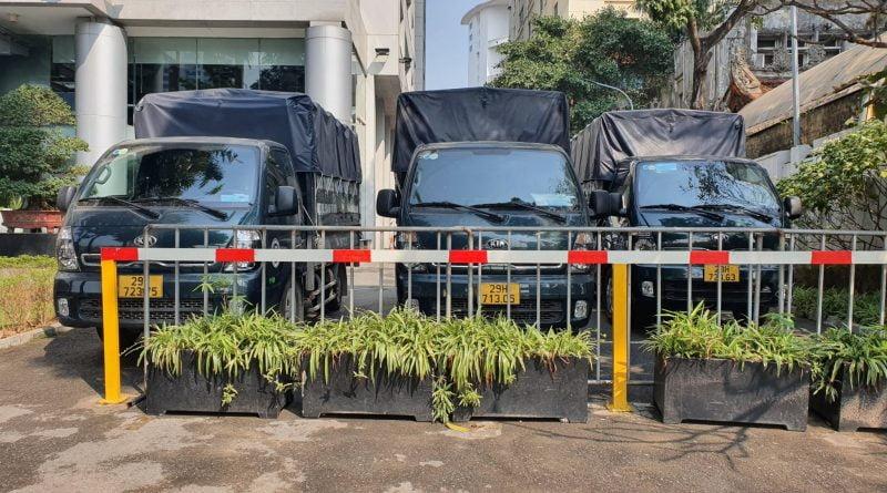 Taxi tải vận chuyển hàng hóa đi nội thành Hà Nội
