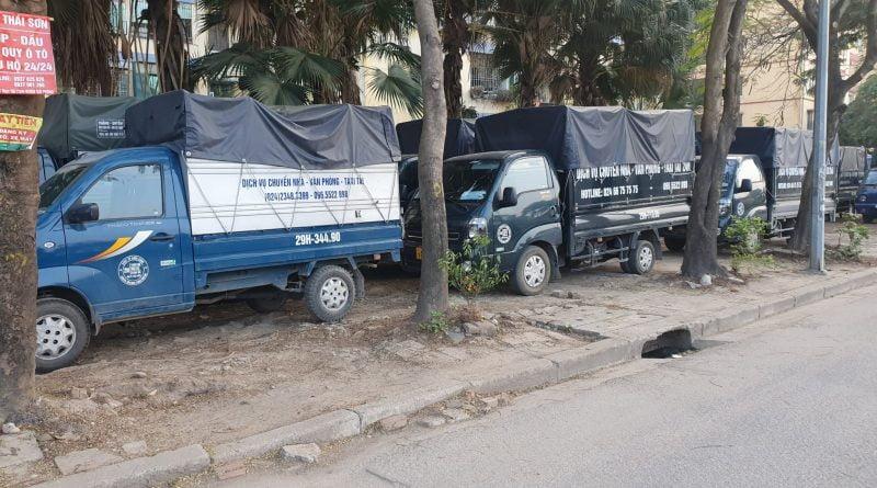 Taxi tải giá rẻ tại Quận Ba Đình