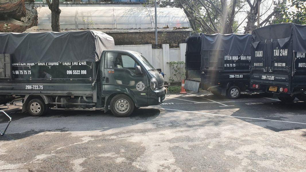 Thuê xe tải theo ngày