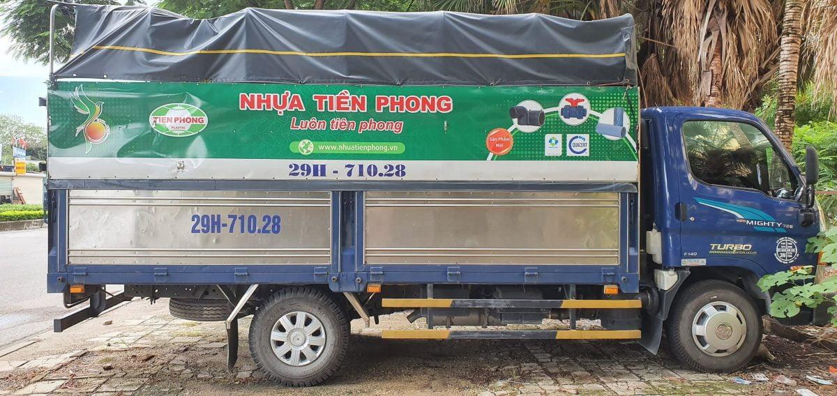 thuê xe tải chở hàng tại hà nội